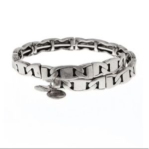 Alex and Ani Silver Freedom Wrap Bracelet